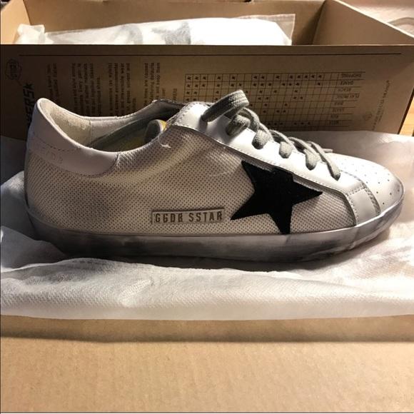 Size 38 Golden Goose Superstar Sneakers
